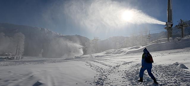 Cannone Sparaneve Sochi
