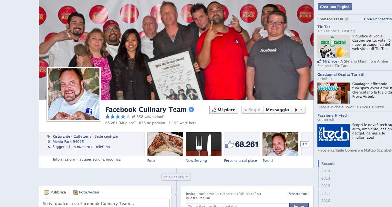 Facebook Caffeteria