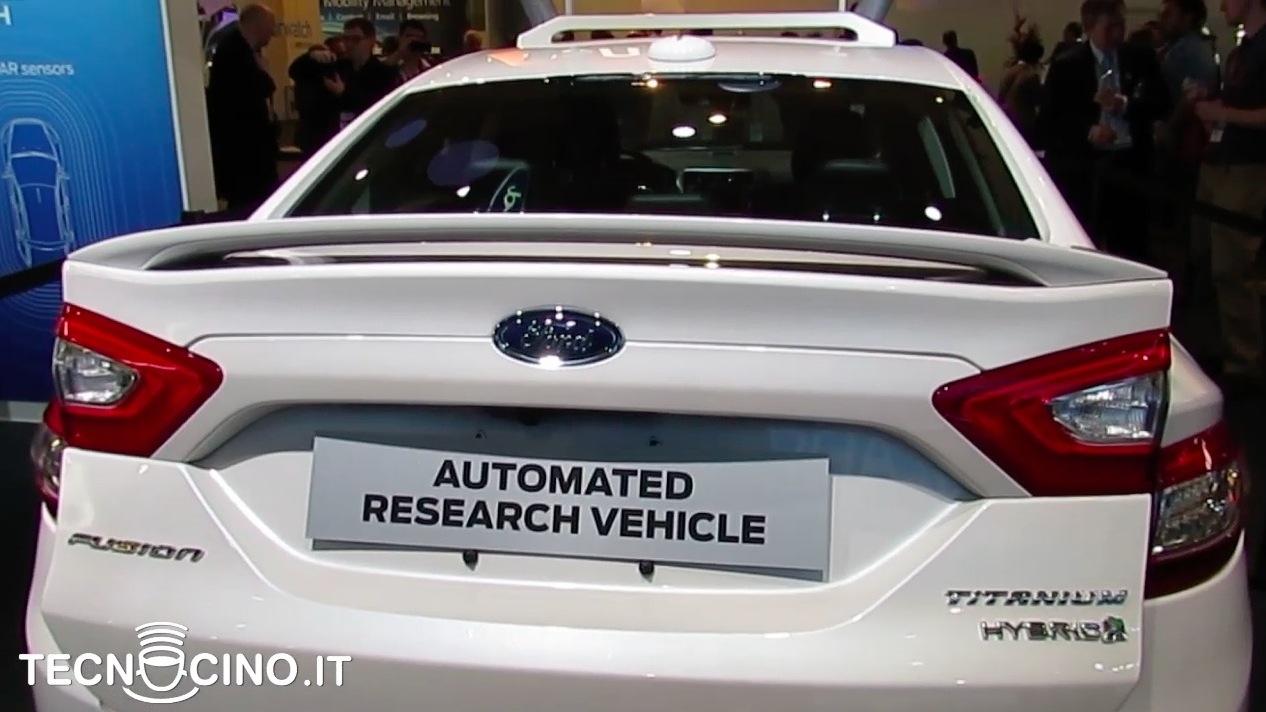 Ford auto autonoma