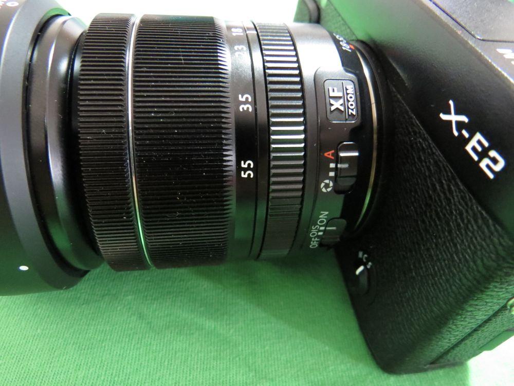 Fujifilm X E2 attacco obiettivo