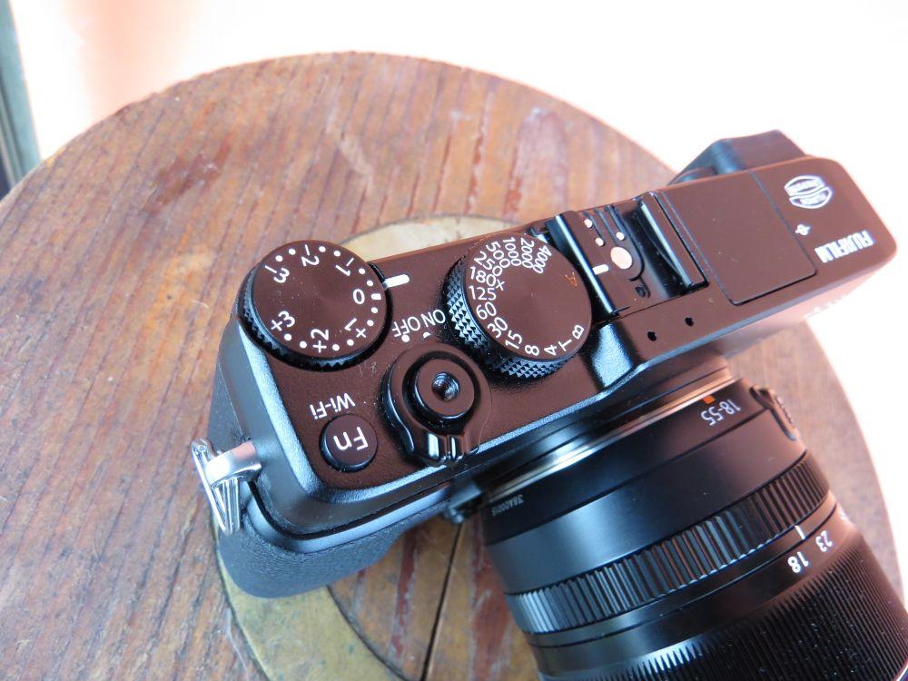 Fujifilm X E2 controlli