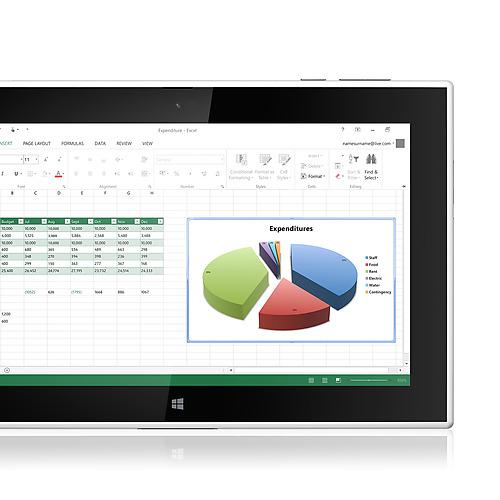 Nokia Lumia 2520 Microsoft Office