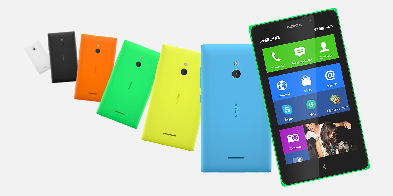 Nokia XL colori
