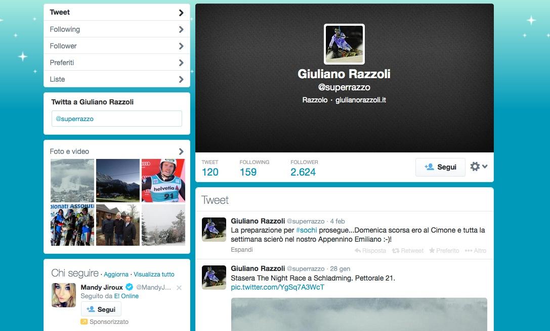 Razzoli Twitter