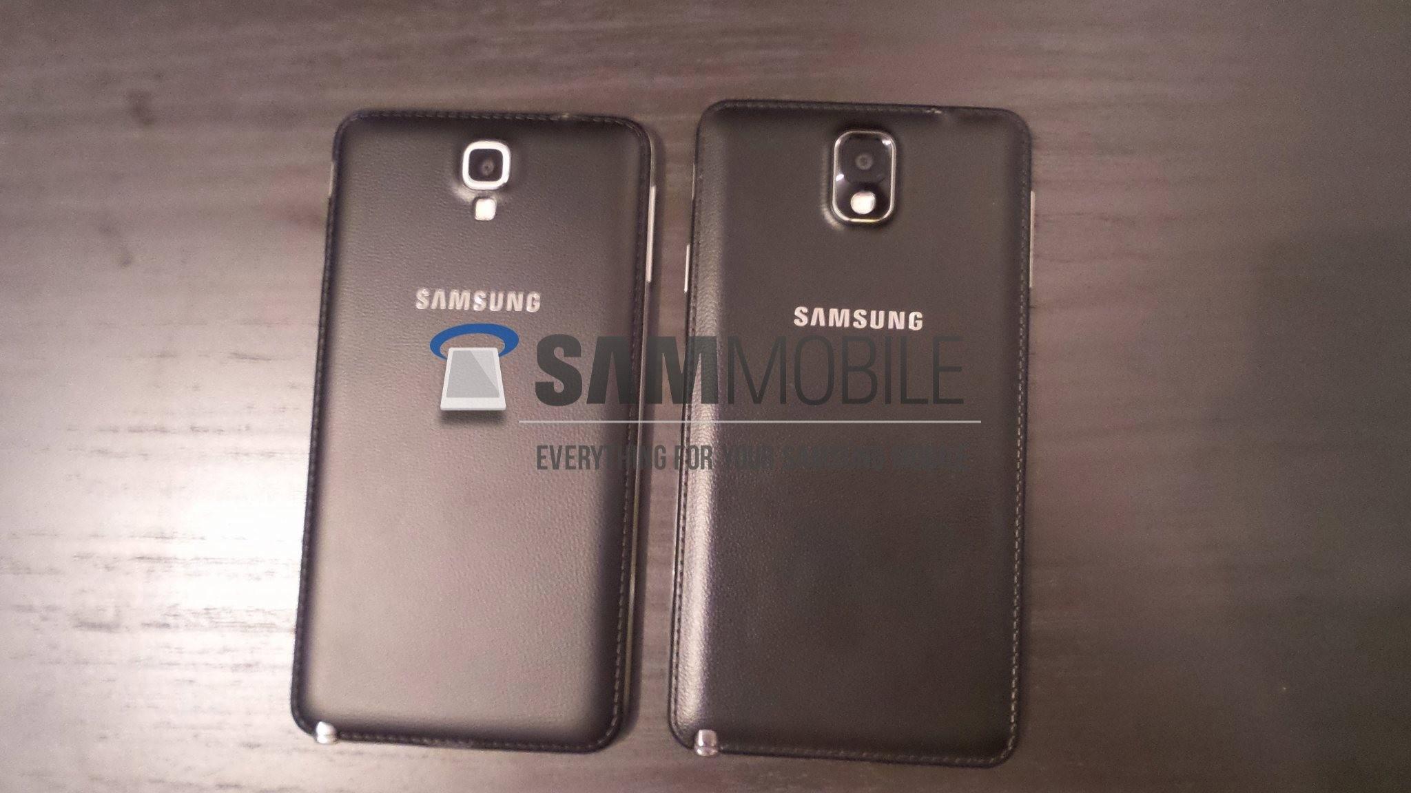 Samsung Galaxy Note 3 Neo retro