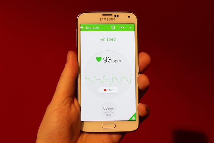 Samsung Galaxy S5 fitness