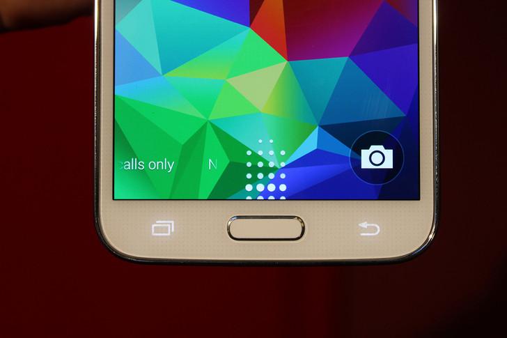 Samsung Galaxy S5 tasti