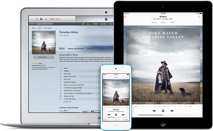 iTunes iOS