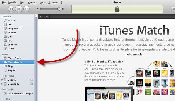 iTunes Match: come funziona