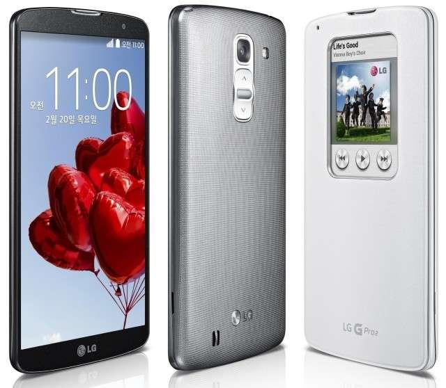 LG G Pro 2: scheda tecnica e uscita [FOTO]