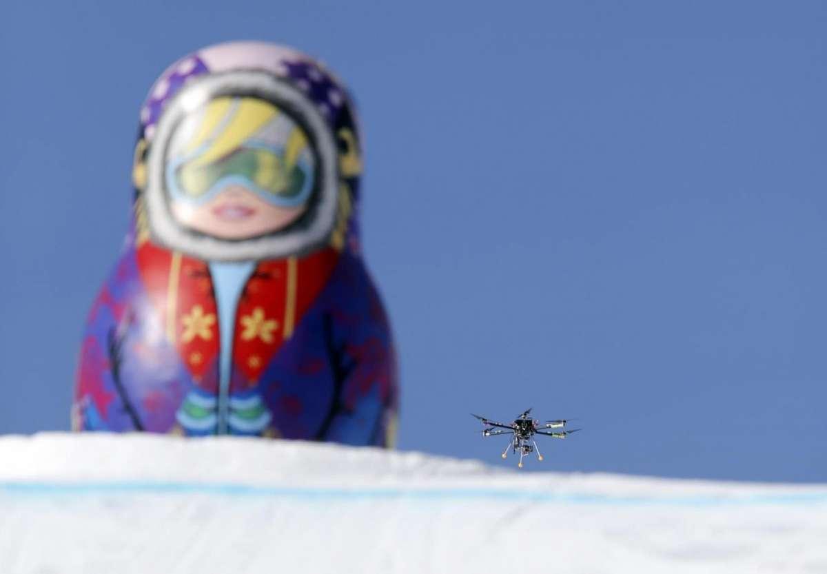 Sochi 2014: le 10 tecnologie più cool dal drone al bob BMW