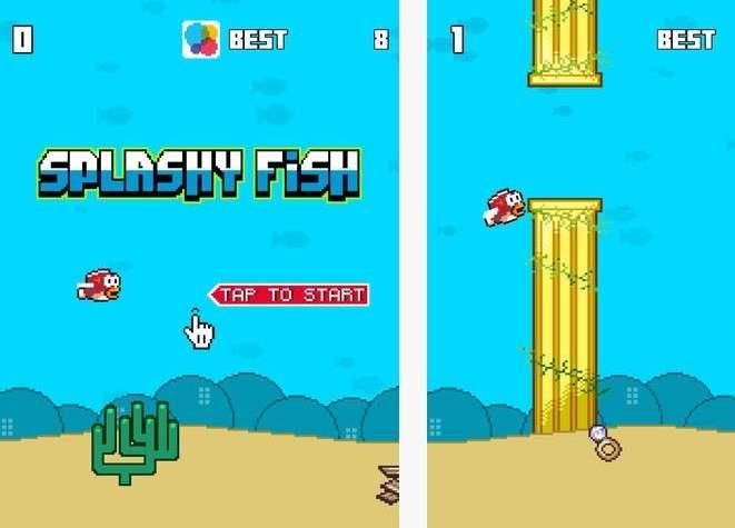 Splashy Fish: clone di Flappy Bird per iPhone e Android
