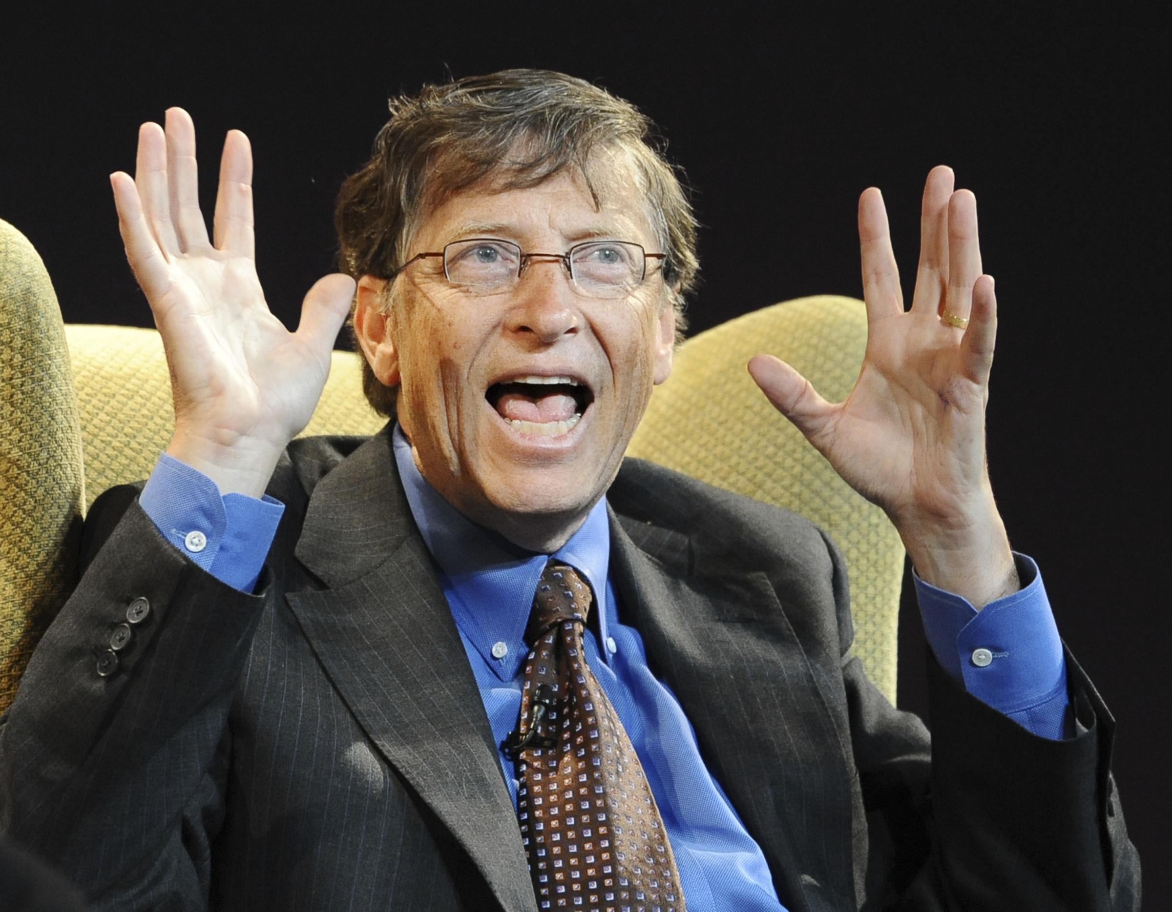 Bill Gates uomo piu ricco al mondo