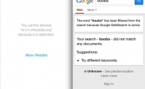 Bloccare un sito con iPhone