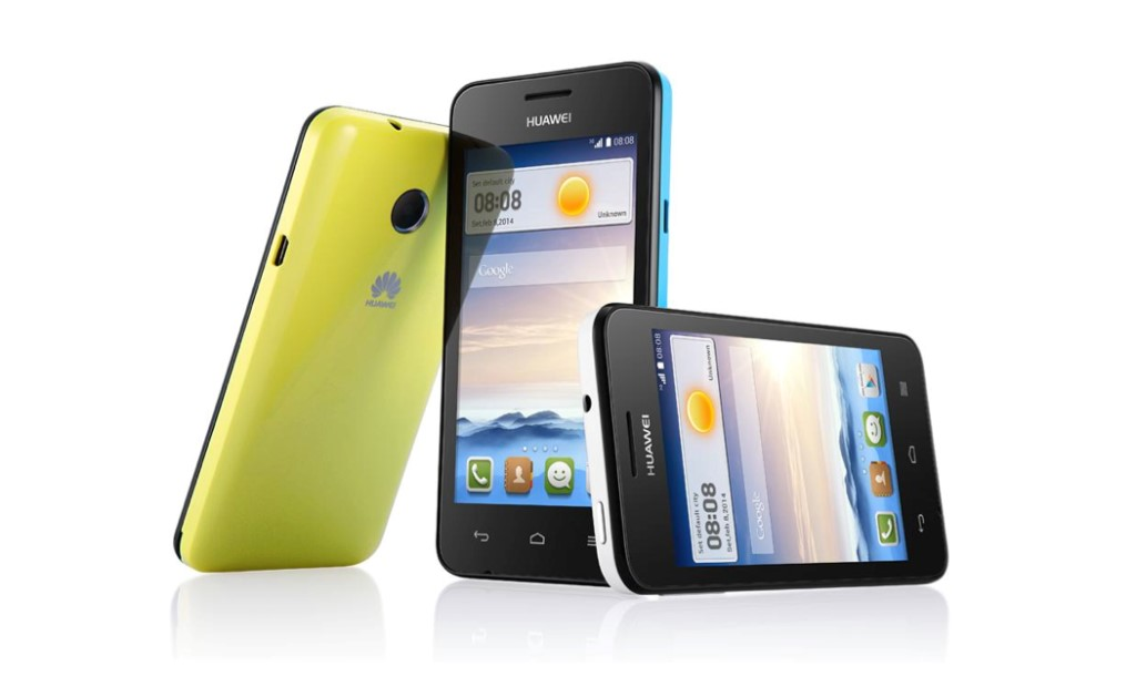 Huawei Ascend Y330 giallo