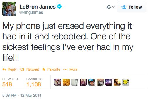 LeBron James maledice il proprio Samsung su Twitter? HTC ne approfitta
