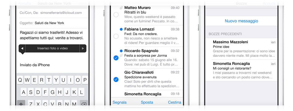 Mail iPhone 5S