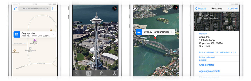Mappe in iPhone 5S
