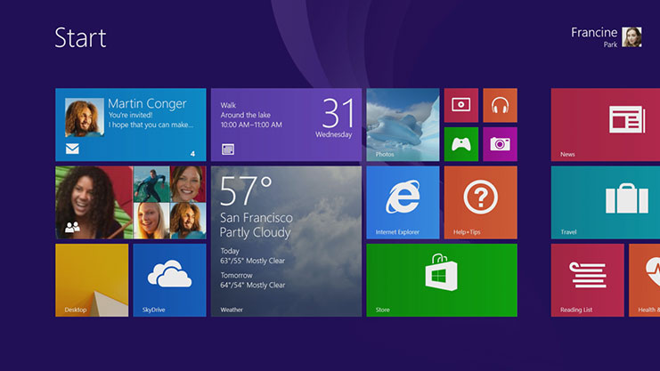 Windows 8.1 novita