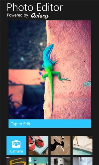 app photo editor by aviary