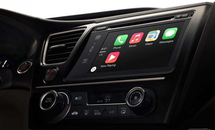Apple CarPlay per usare iPhone sull'auto, Ferrari compresa