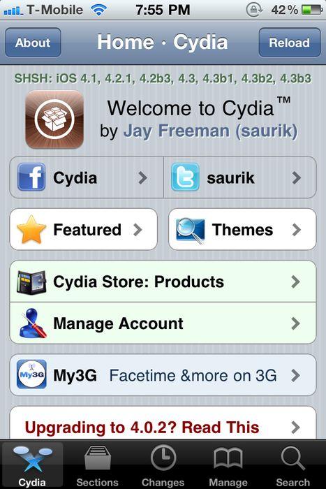 cydia interfaccia