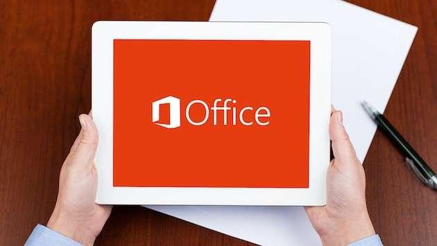 Office per iPad con Word, Excel, PowerPoint e OneNote [FOTO]