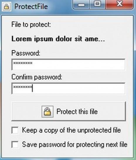 protectfile