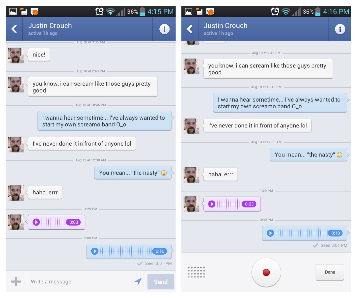 Facebook messenger, la chat mobile di Facebook