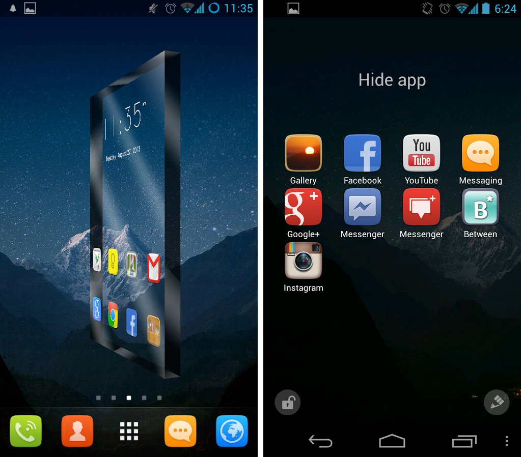 GOLauncher Prime per Android 2.2.5