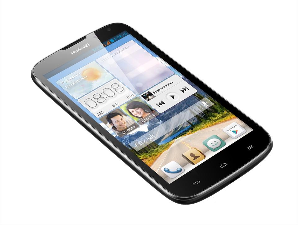 Huawei Ascend G610 design nero