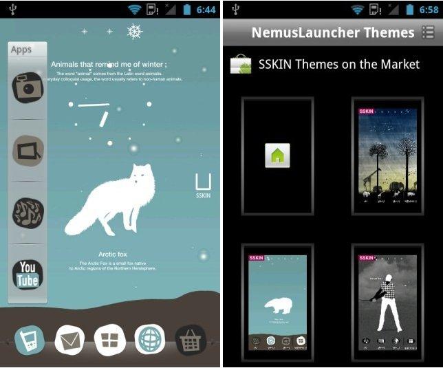 Nemus, il launcher più leggero per Android