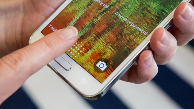 Samsung Galaxy S5 lettore impronte