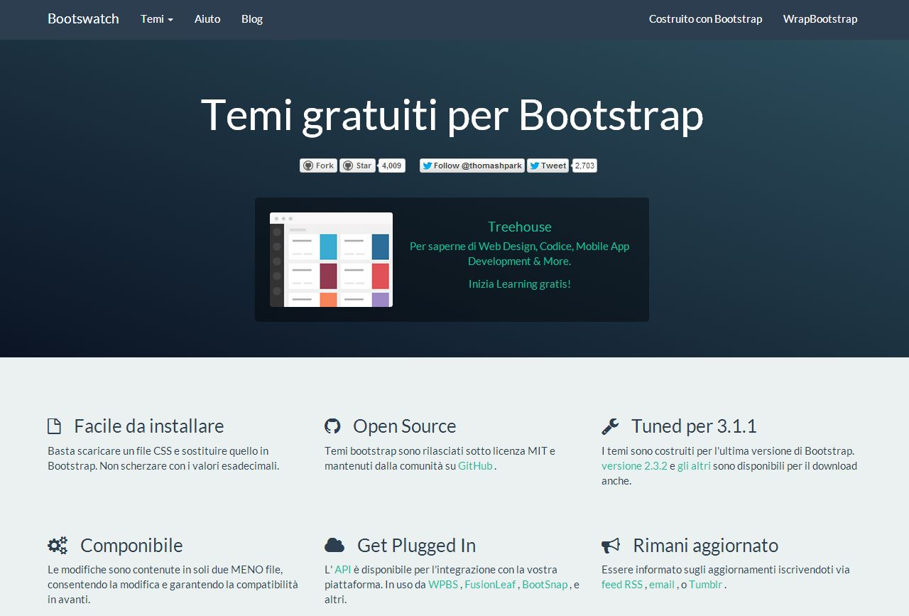 Twitter Bootstrap template