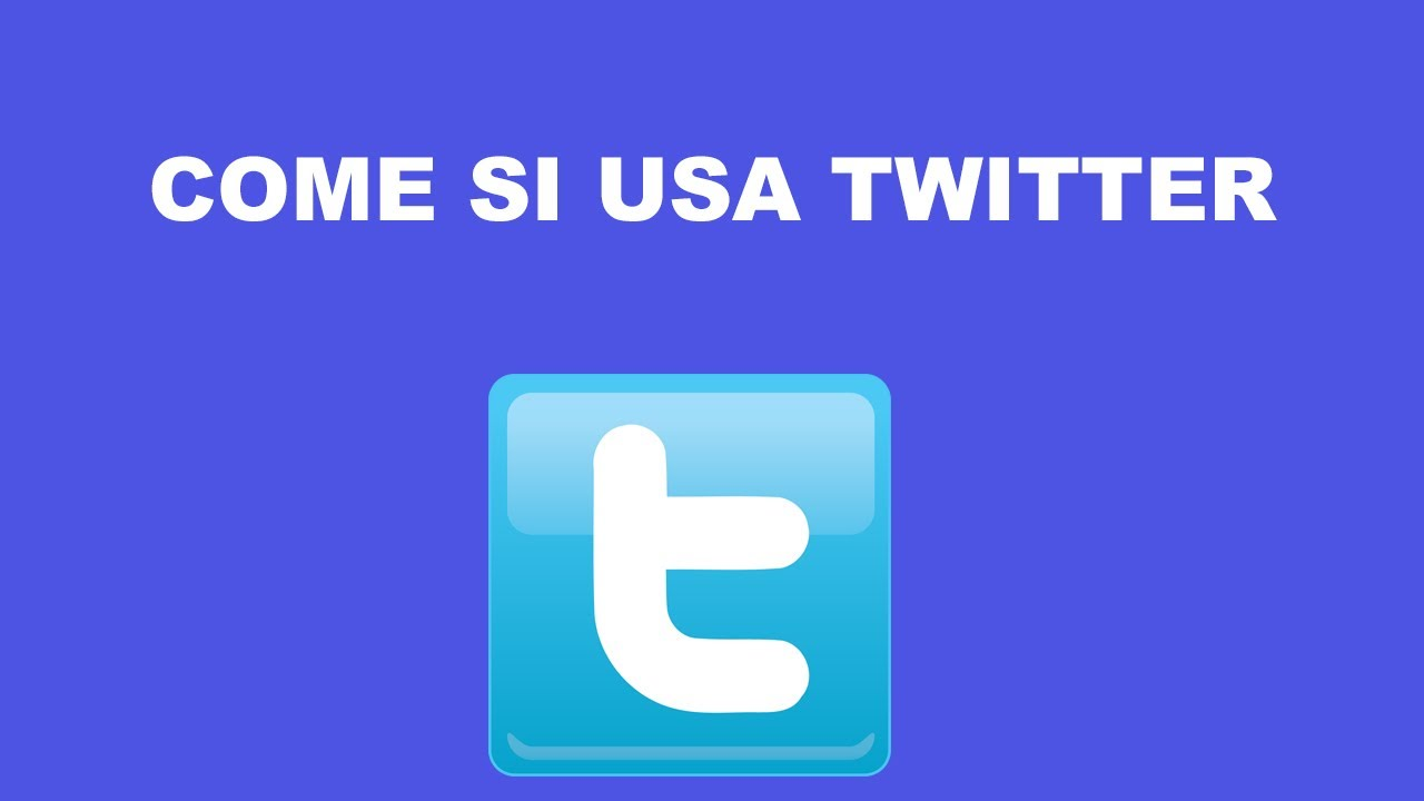 Twitter in italiano, come si usa