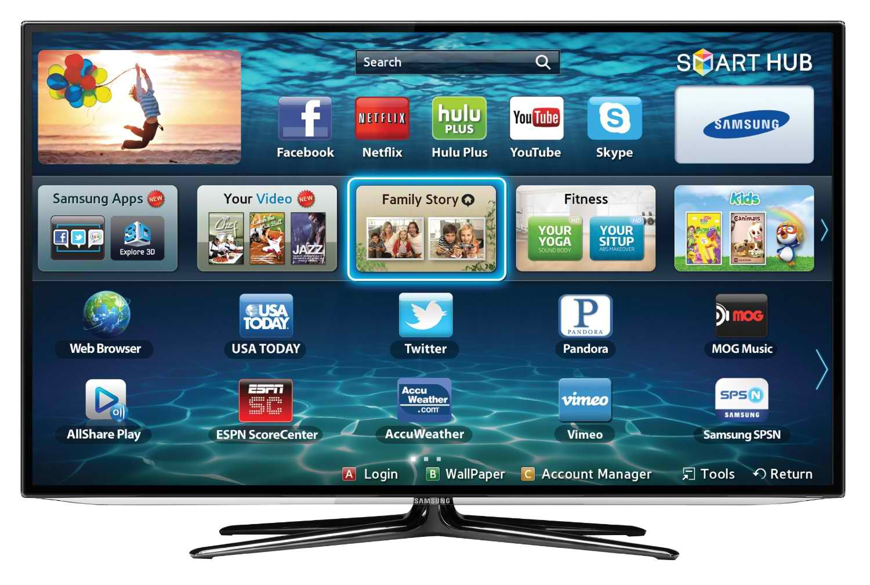 account samsung smart tv