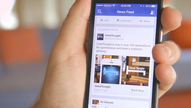 aggiornare facebook