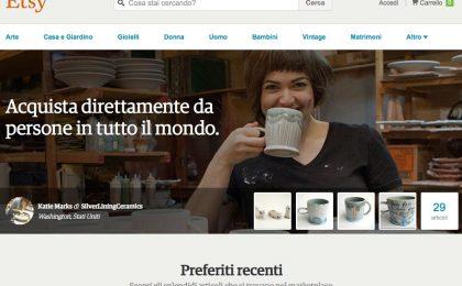 Etsy Italia: come funziona e come vendere