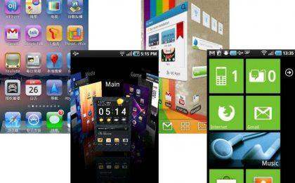 I migliori 4 launcher per Android del 2014