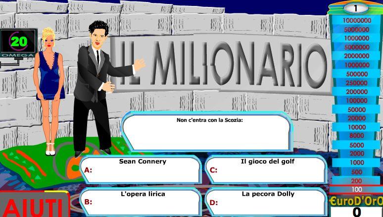 il milionario online