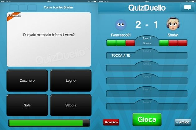 quizduello screen