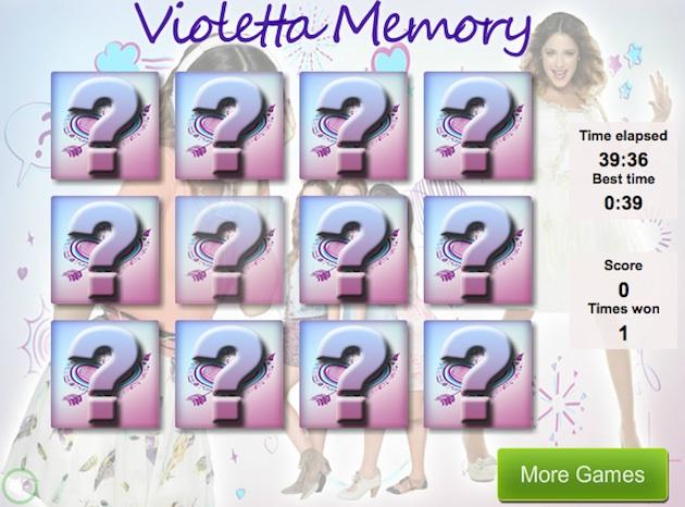violetta memory