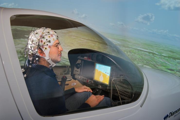 Aerei pilotati con la mente: il futuro dell'aviazione