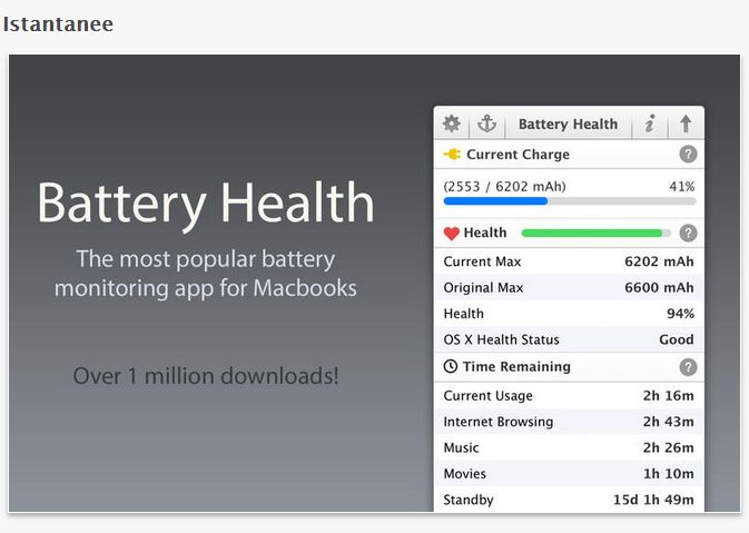 Battery Health anteprima