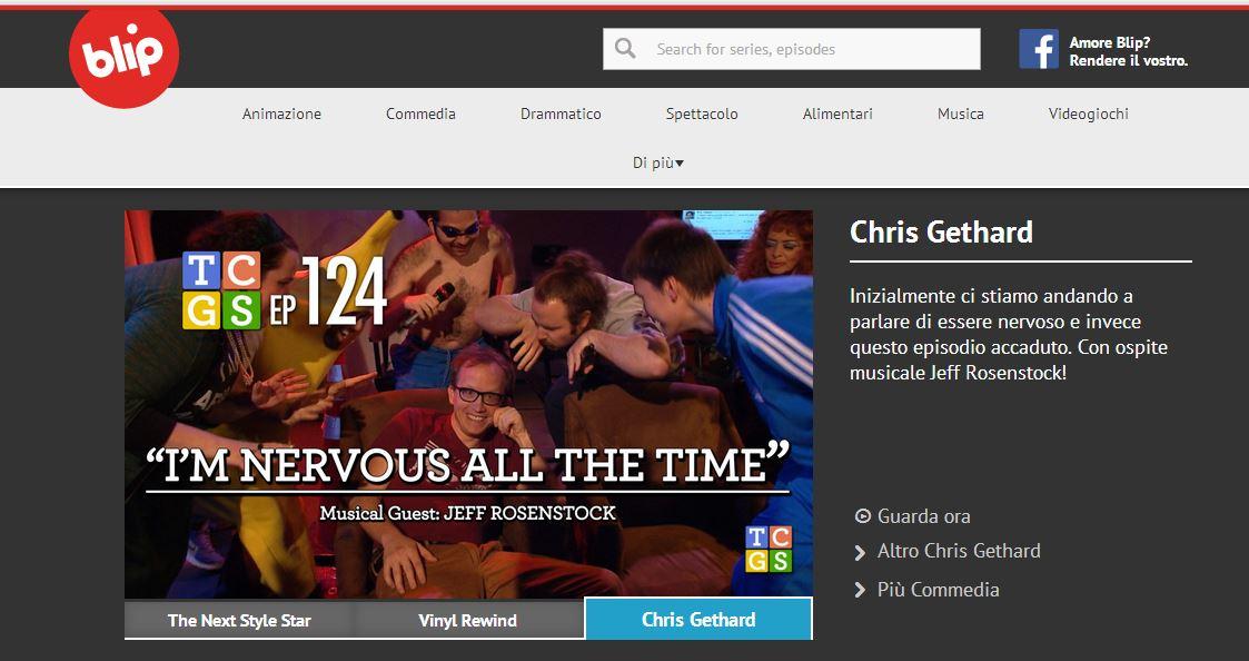 Blip.Tv homepage