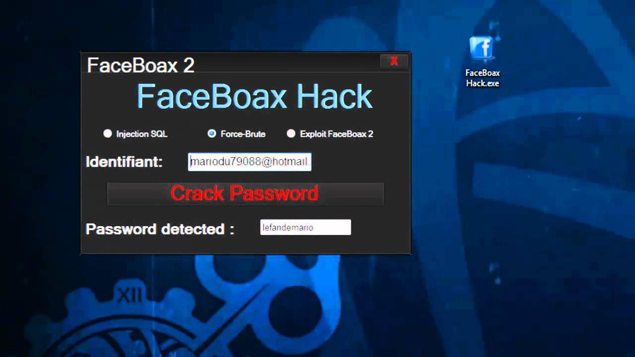 Faceboax hackerare la password di Facebook