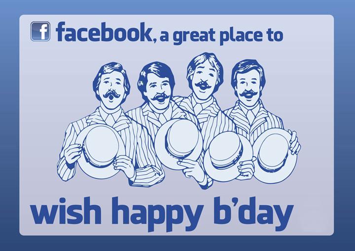 Facebook amici che cantano