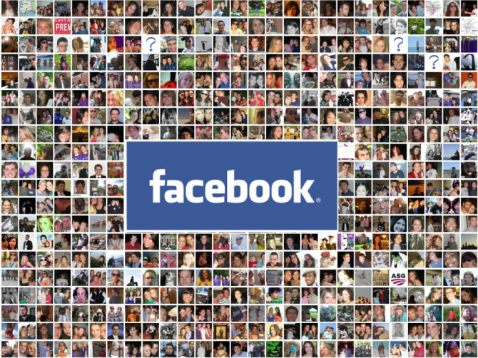 Facebook mosaico amici