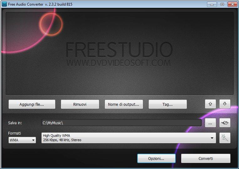 Free Audio Converter con download free