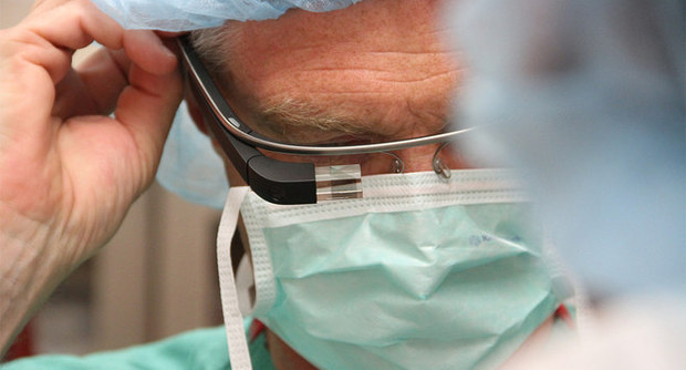 Google Glass Operazione Chirurgica
